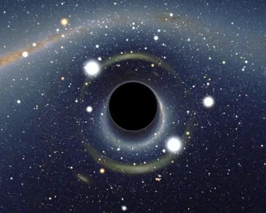 agujero negro centro galaxia - 2012, el año en que el mundo no se acabó...¿o sí?