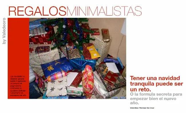 regalos minimalistas