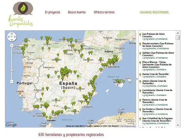 Huertos Compartidos - Huertos compartidos. Los viernes de Ecología Cotidiana