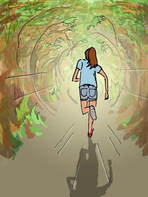 Running away - Running-away