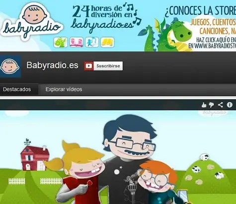 BabyRadio en Youtube