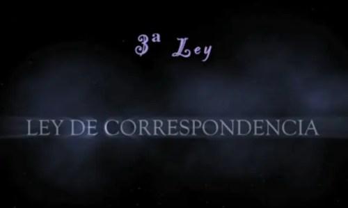 ley correspondencia - ley correspondencia