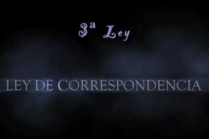 ley correspondencia - Ley de correspondencia: 3ª Ley Universal de Hermes