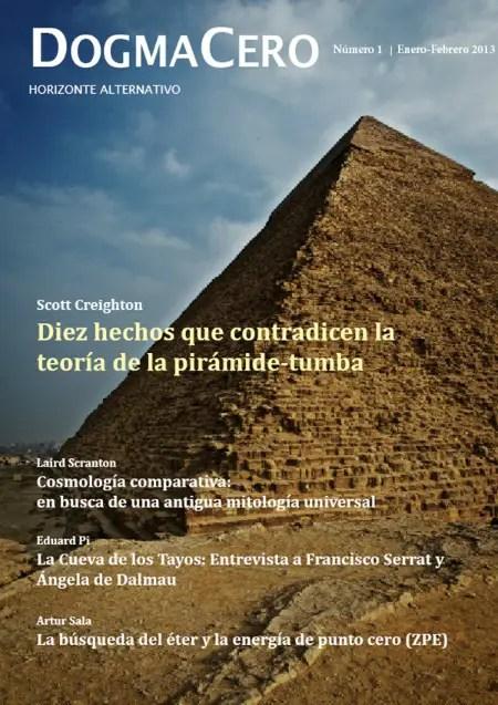 dogma cero 1 - DOGMA CERO: revista digital gratuita. Una visión alternativa de la ciencia, la historia y la sociedad
