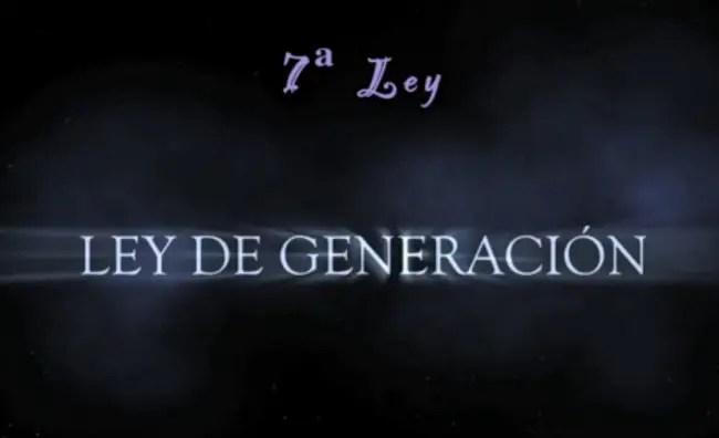 ley de generación - Ley de generación: 7ª Ley Universal de Hermes