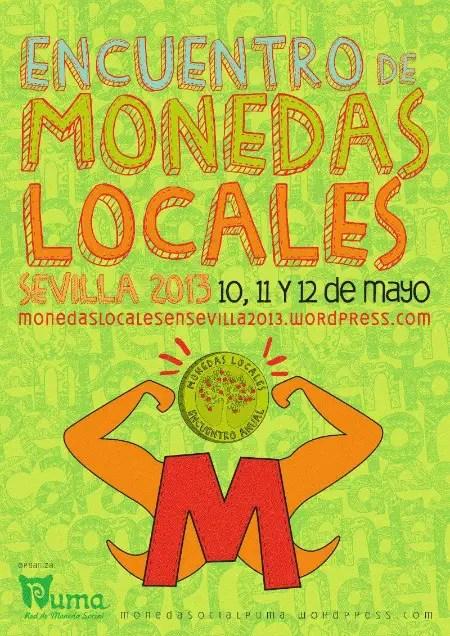 monedas locales - Encuentro de MONEDAS LOCALES, Sevilla mayo 2013