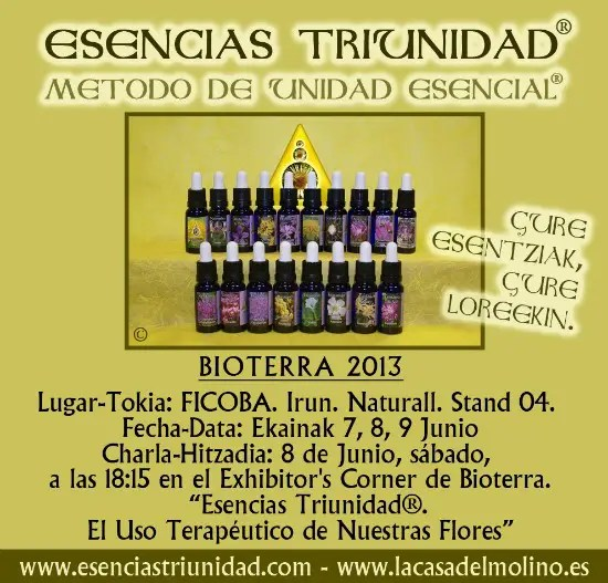 Publi Bioterra - BIOTERRA 2013 en Irun (Gipuzkoa): 10ª Feria Europea de Productos Biológicos, entrada gratuita