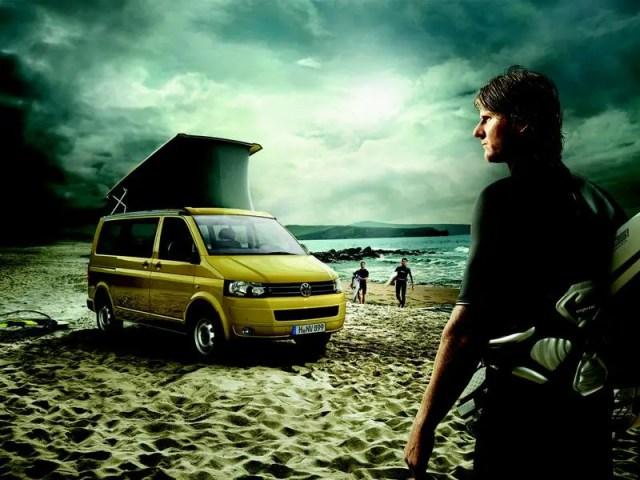 VW California 1 - Volkswagen California Beach Edition, la furgoneta de los surferos