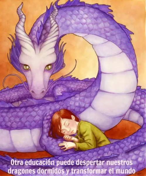 dragon - cristina romero dragon dormido revolucion en la escuela
