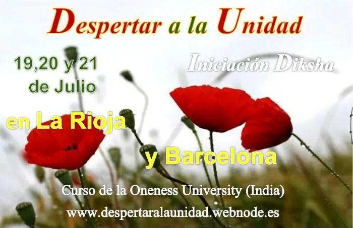 imagen anuncio1 - Despertar a la Unidad: Iniciación DIKSHA en La Rioja y Barcelona
