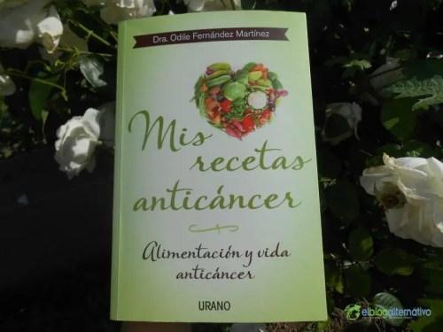 libro mis recetas anti cancer - libro mis recetas anti cancer