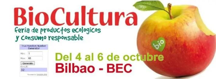 biocultura bilbao 2013 sorteo entradas en EBA