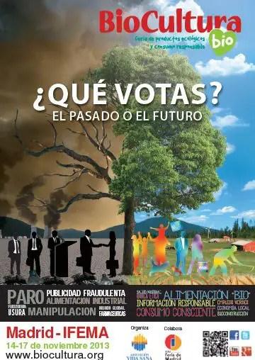 Cartel Biocultura Madrid 20131 - SORTEO 20 entradas dobles para BIOCULTURA Madrid 2013