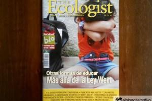 the ecologist 551 - Otra forma de educar. Más allá de la ley Wert. The Ecologist nº 55
