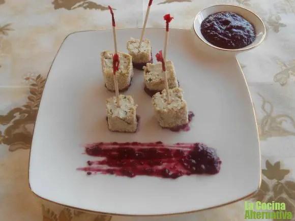 tofu - Zumo de uva negra y hojas de remolacha y 4 recetas más de La Cocina Alternativa
