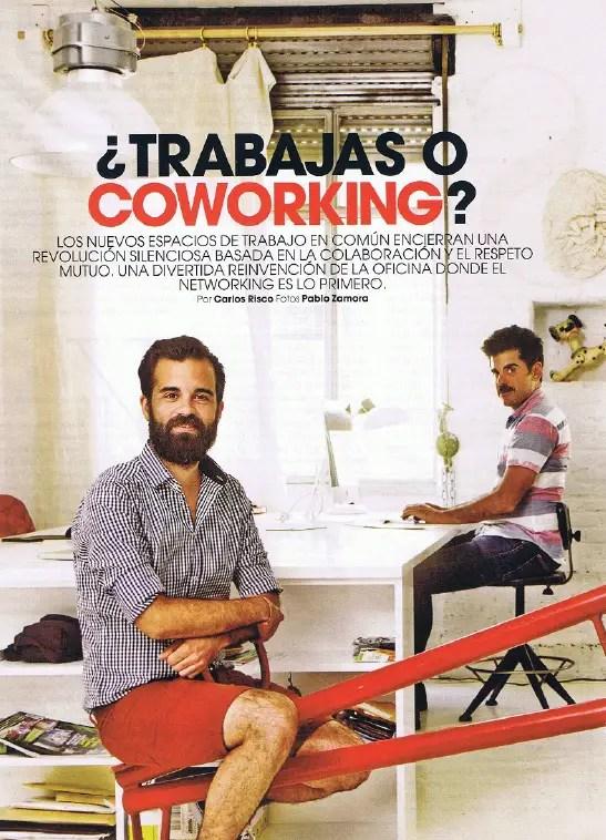 COWORKING - ¿TRABAJAS O COWORKING? Frente al esclavismo la colaboración y el respeto llegan a las oficinas