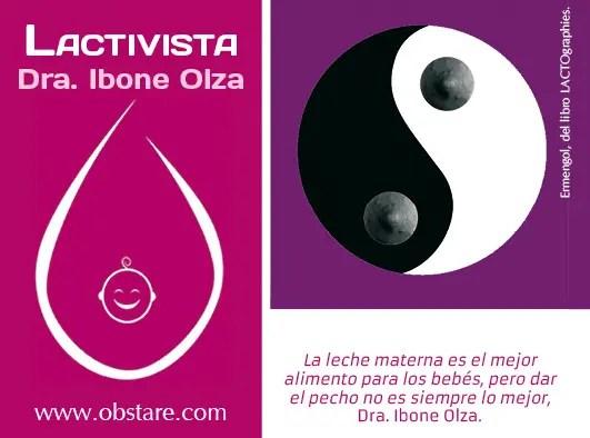 """Promoción3h - """"El pecho no es lo mejor"""": LACTIVISTA de Ibone Olza"""