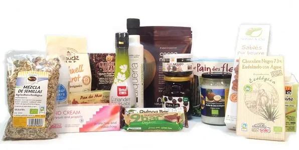 SORTEO de lote de productos de GLUTENFREESHOP