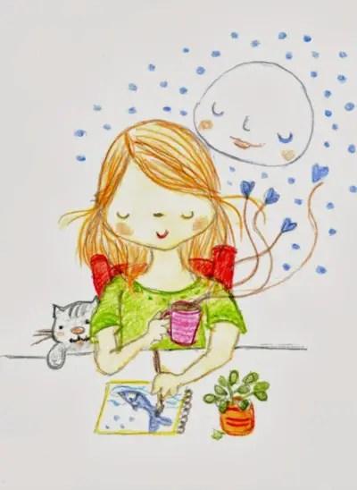 """monica2 - """"No sabía que podría dedicarme a un trabajo tan bonito y apasionado"""" Entrevista a la ilustradora infantil Mónica Ortiz"""