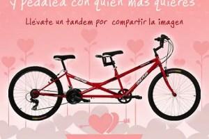 Tandemprincipal1 - Gana una bicicleta tándem y compártela con tu pareja