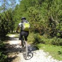 bicicleta montaña - Primavera y deporte al aire libre