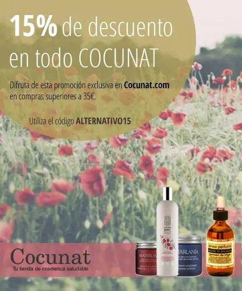descuento 15 en Cocunat