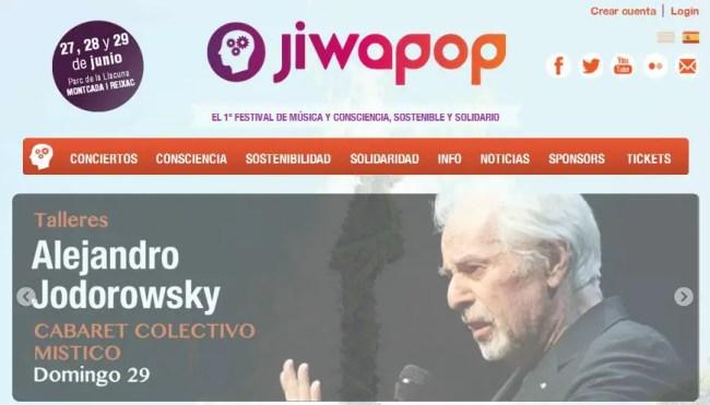 Jiwapop - SORTEO de entradas para JIWAPOP, Festival de Música y Consciencia