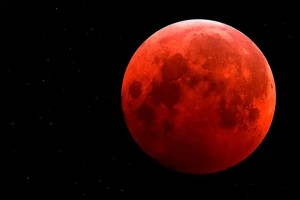 luna roja - Luna sangrante del 8 de octubre 2014