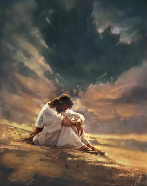 tentacion de jesus - La Noche Oscura del Alma: la metamorfosis de la oruga a mariposa