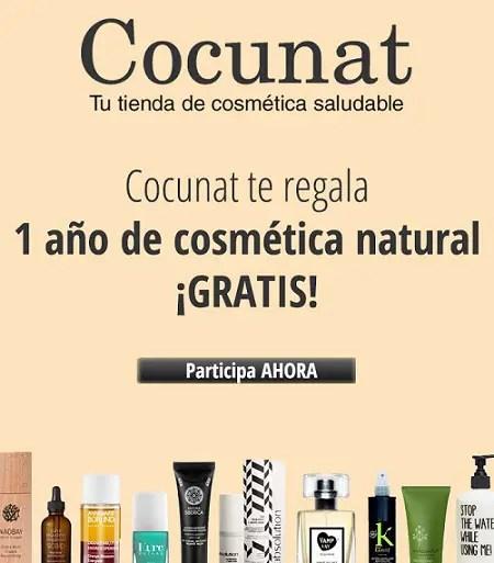 Banner 450 EBA V3 - Gana, con Cocunat.com, un año de cosmética natural gratis