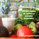 sorteo blog 6 años - 6º aniversario de El Blog Alternativo y SORTEO de nuestro curso de zumos online