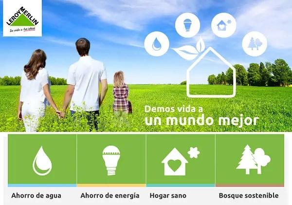 Eco Opciones 1 - Da vida a un mundo mejor con las Eco Opciones de Leroy Merlin