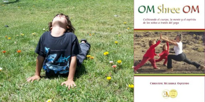 PicMonkey Collage - YOGA Y NIÑOS para ayudarles a crecer desde dentro consciente y saludablemente. Entrevista a la experta Christine McArdle