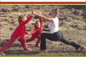 portada om shree - YOGA Y NIÑOS para ayudarles a crecer desde dentro consciente y saludablemente. Entrevista a la experta Christine McArdle