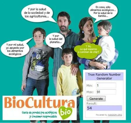 Ganadores Sorteo Biocultura Valencia 2015 - GANADORES Sorteo Biocultura Valencia 2015