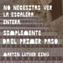 happymotto14 - No necesitas ver la escalera  para dar un paso