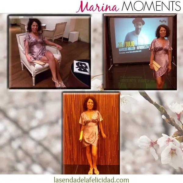 Marina Moments concierto - Tres palabras para que comience un sueño