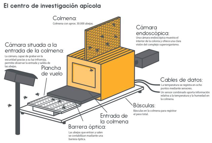 Centro de investigación apícola