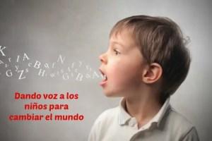 voz - Dar voz a los niños ¿por qué nos cuesta tanto?