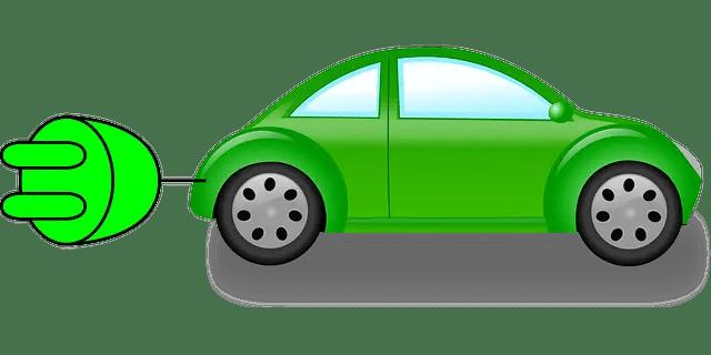 coche eléctrico eco-friendly