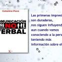 """Comunicación no verbal - Entrevista a Catalina Pons, autora del libro """"Comunicación No Verbal"""""""