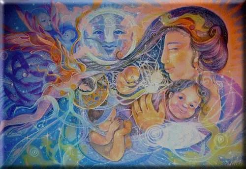 Nacimiento de Luz1 - Feliz Navidad, Feliz Luna Llena, Feliz Despertar...