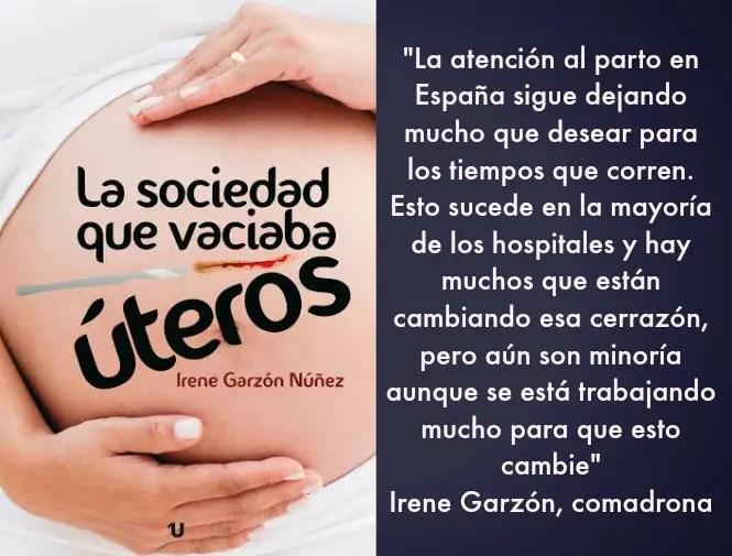 """uteros frase - """"A las mujeres embarazadas hay que devolverles la opción de decidir"""". Entrevista a la comadrona internacional Irene Garzón"""
