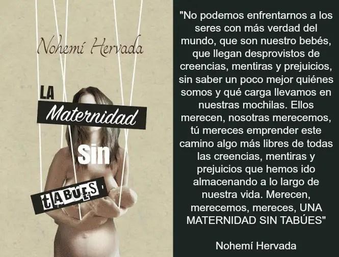 nh3 - La Maternidad sin tabúes, de Nohemí Hervada