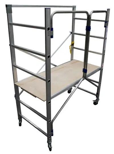 KTL andamios y escaleras de aluminio - Seguridad en los trabajos de bricolaje con andamios y escaleras de aluminio KTL
