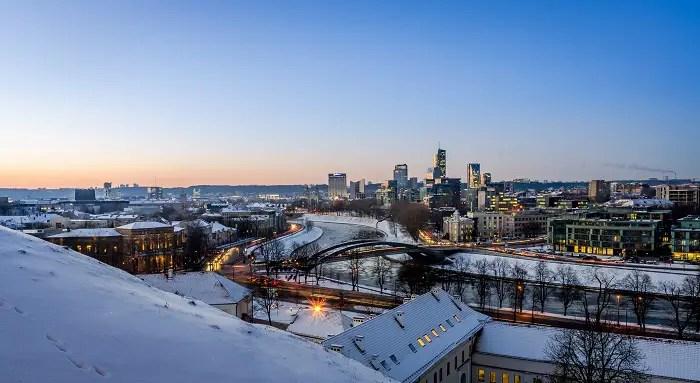 4 Vilnius credito Flickr MantasVolungevicius - Turismo por Europa en invierno ¡Descubre las 3 ciudades más blancas!