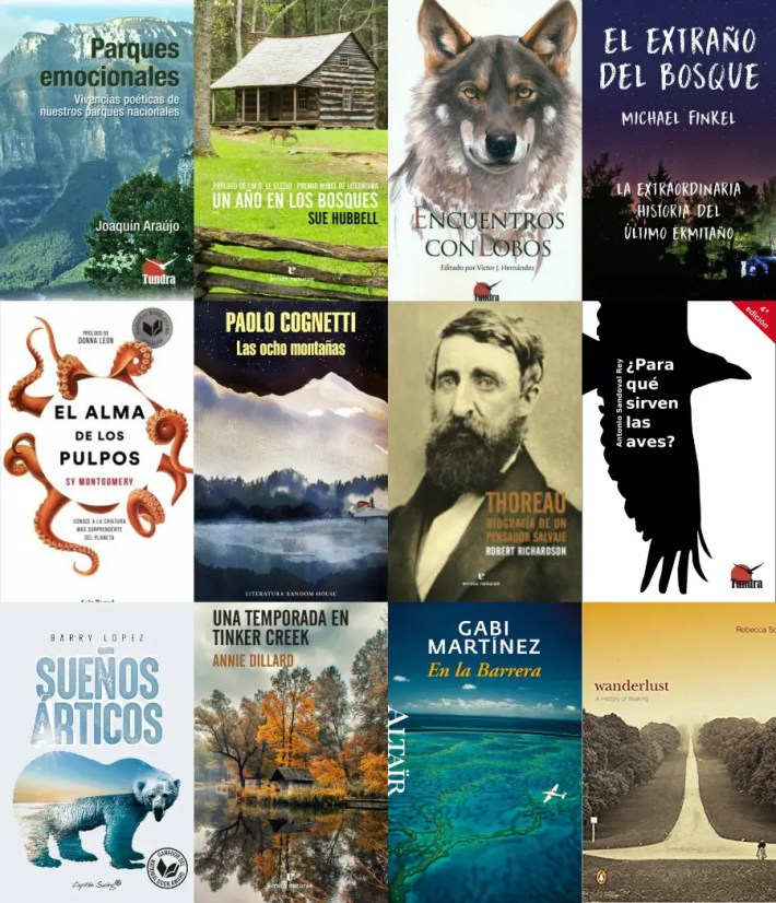 libros naturaleza 2 - Liternatura: libros sobre naturaleza y vida salvaje