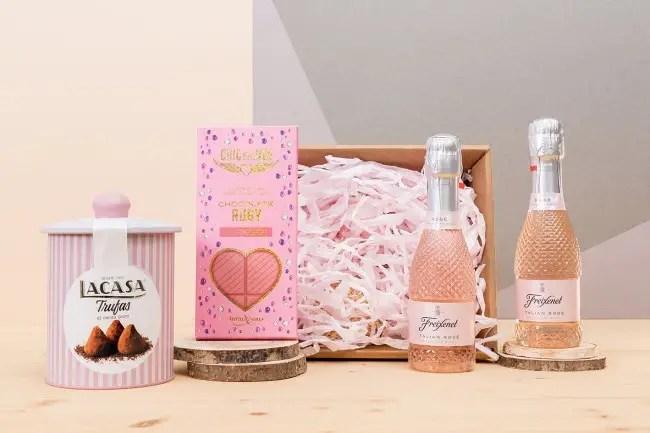 BANDEJA PROSECO ROSSE - Lista de regalos sorpresa