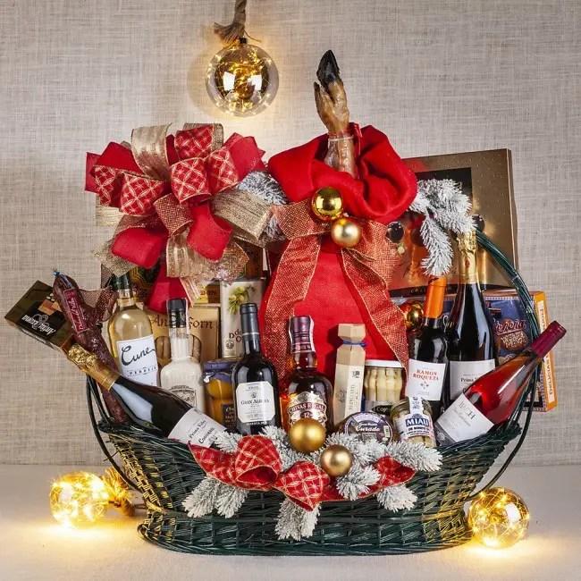 CESTA DE NAVIDAD - Lista de regalos sorpresa