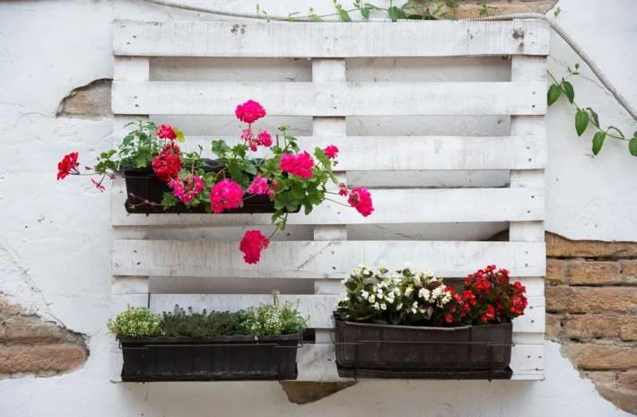 decoracion pallets - Ayuda al medio ambiente a través de la decoración